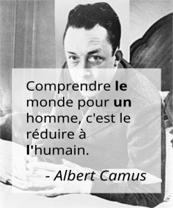 French articles in Albert Camus