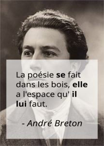 French pronouns in André Breton